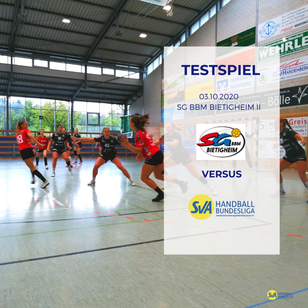 Testspiel: SV Allensbach vs. SG BBM BIetigheim 2