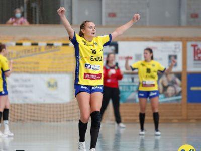 Julia van Kampen freut sich auf das Derby gegen den TuS Steißlingen