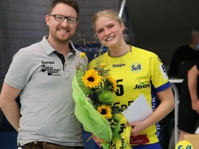 Spielerin des Spiels Franziska Höppe