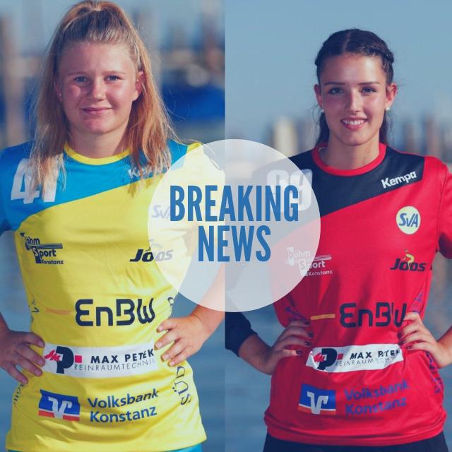 Vertragsverlängerung mit Sophie Leenen und Katja Allgeier