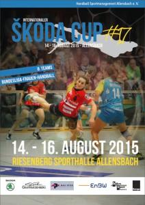 Cover Hallenheft Skoda Cup 2015