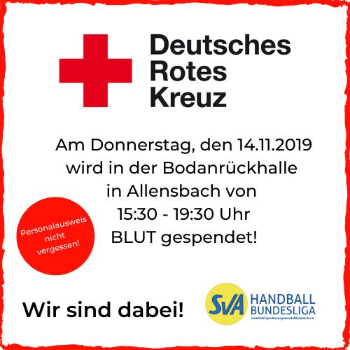 Deutsches Rotes Kreuz Blut spenden in Allensbach