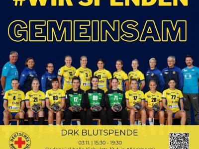 Wir spenden gemeinsam: Blutspende am 03.11. in Allensbach