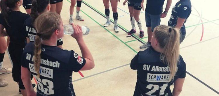 SV Allensbach beim «Kempa Cup» beim Zweitligisten Waiblingen