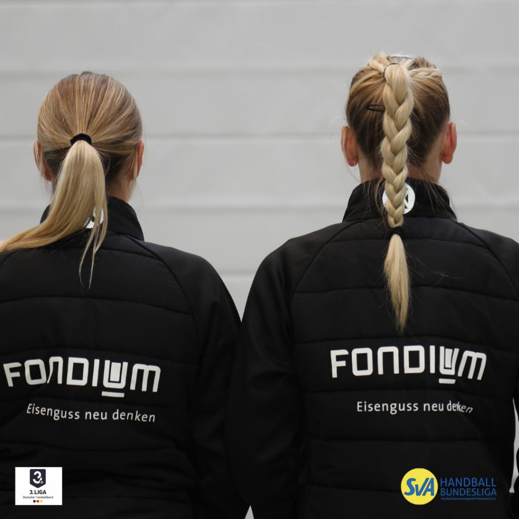 Neue Kempa Winterjacken gesponsort von der FONDIUM Singen GmbH