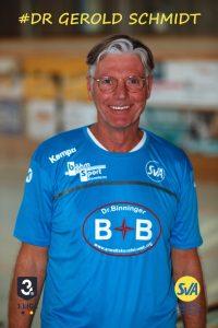 Gerold Schmidt Arzt beim SV Allensbach
