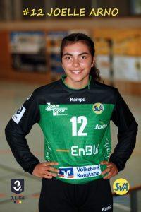 Joelle Arno Torwart beim SV Allensbach