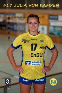 Julia von Kampen Rechtsaußen beim SV Allensbach
