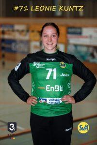 Leonie Kuntz Torwart beim SV Allensbach