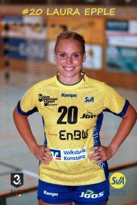 Laura Epple Linksaußen beim SV Allensbach