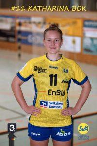 Katharina Bok Rückraum Mitte beim SV Allensbach