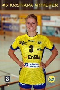 Kirstiana Mitreiter Kreismitte beim SV Allensbach