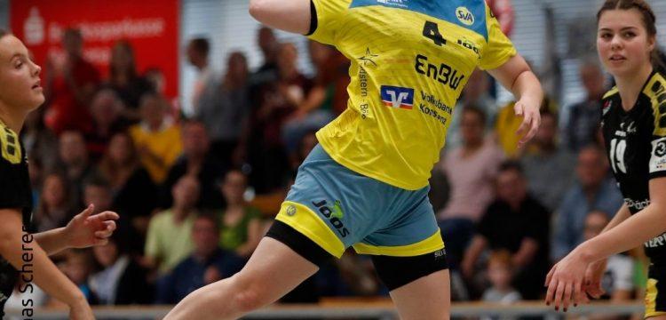 Spielerin des Spiels Sarah Rothmund wird präsentiert von der Bezirkssparkasse Reichenau  Foto:Thomas Scherer