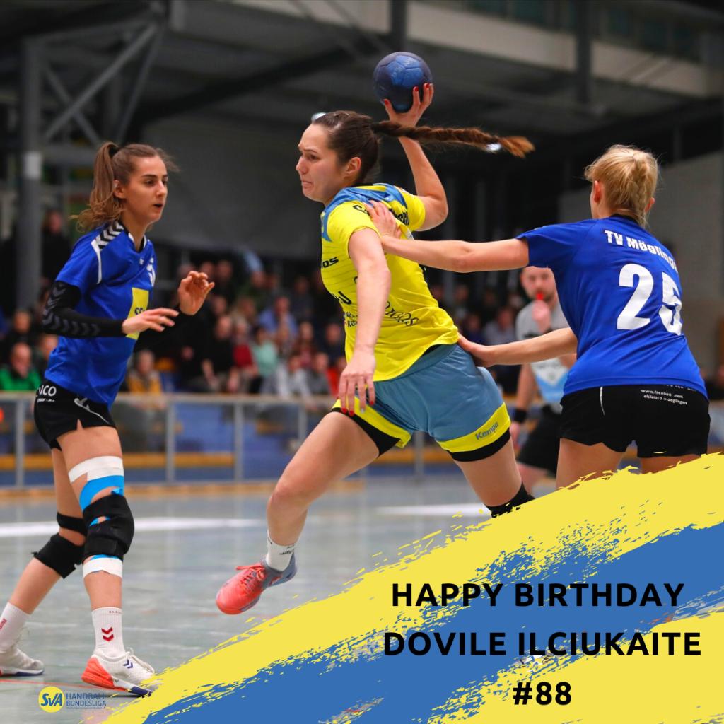 Happy Birthday Dovile Ilciukaite