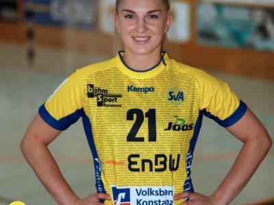 SV Allensbach Spielerin Greta Rinkeviciute wird 22. jahre alt