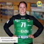 Leonie Kuntz vom SV Allensbach feiert ihren 18. Geburtstag