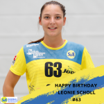 Happy Birthday Leonie Scholl