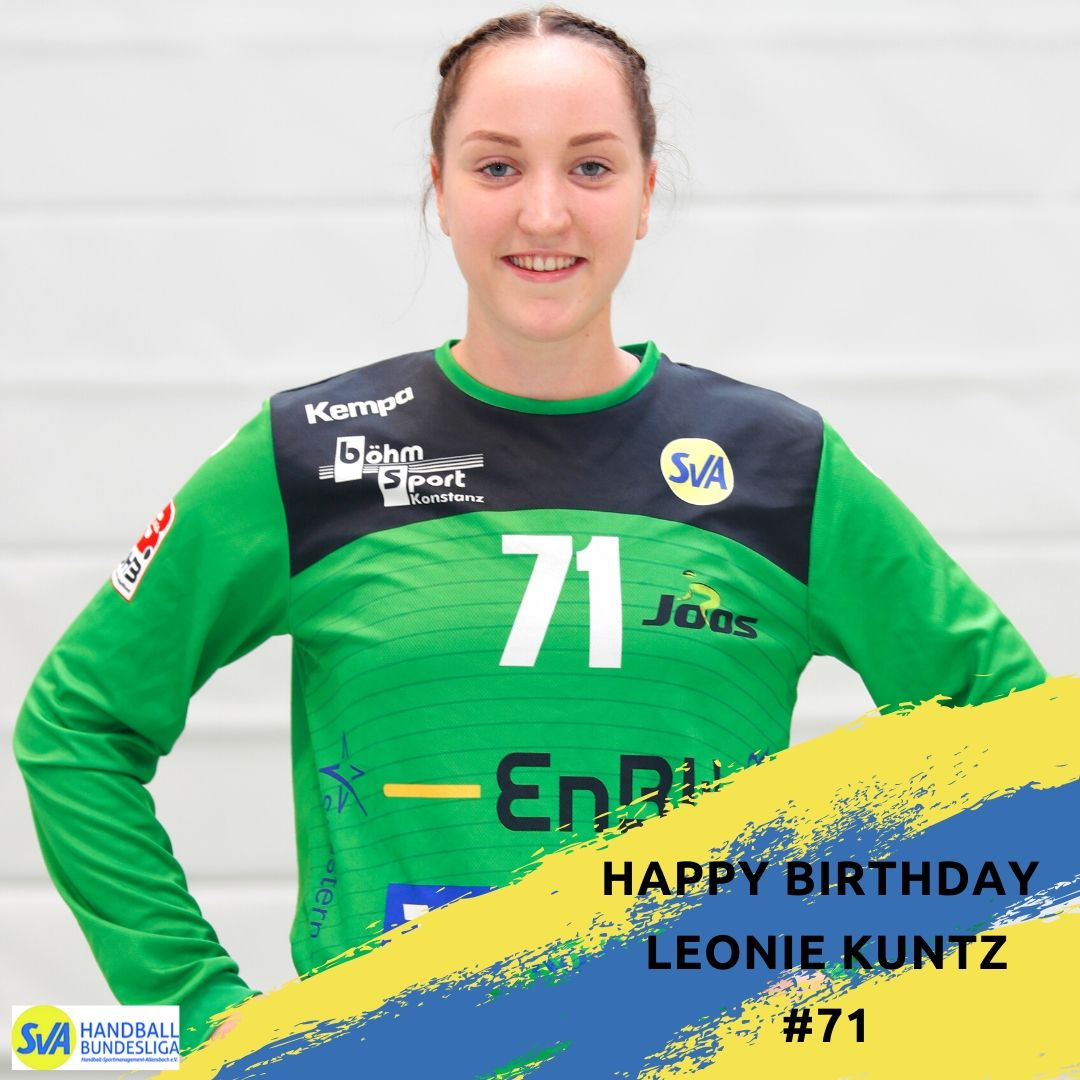 Happy Birthday Leonie Kuntz