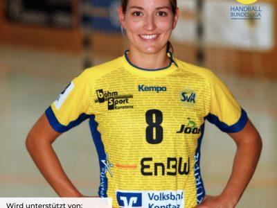 SV Allensbach Spielerin Nadja Greinert wird 28. jahre alt