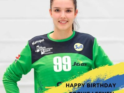 Happy Birthday Sophie Leenen