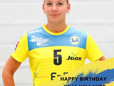 Happy Birthday Julia 'Willi' Willauer