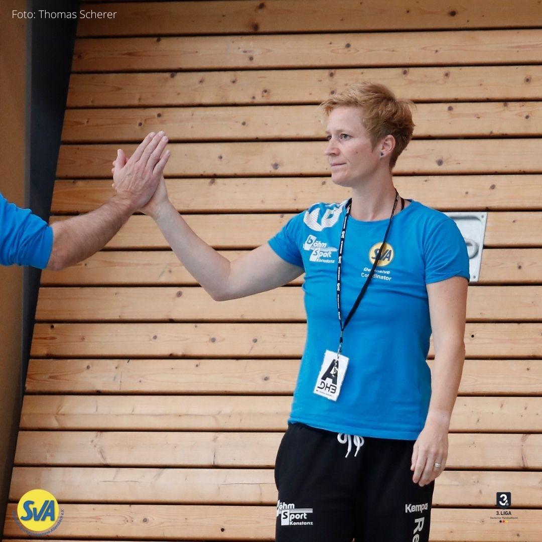 SV Allensbach Coach Sandra Reichmann feiert Geburtstag