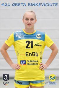 Nr. 21 Greta Rinkeviciute