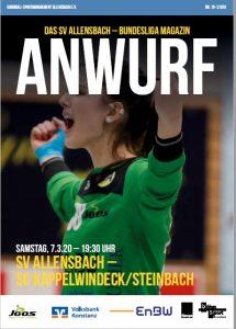 Hallenheft 07.03.2020 SV Allensbach - SG Kappelwindeck/Steinbach