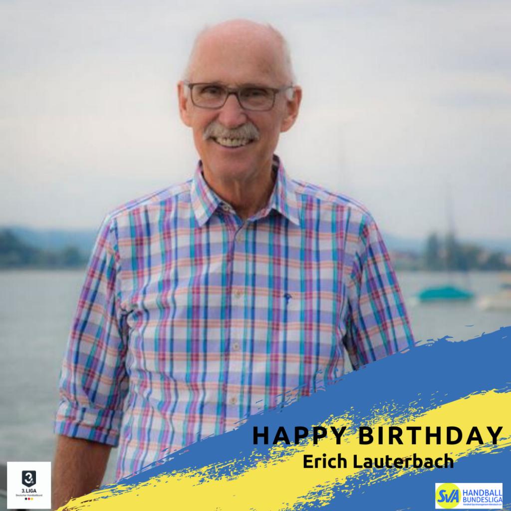 Happy Birthday Erich Lauterbach