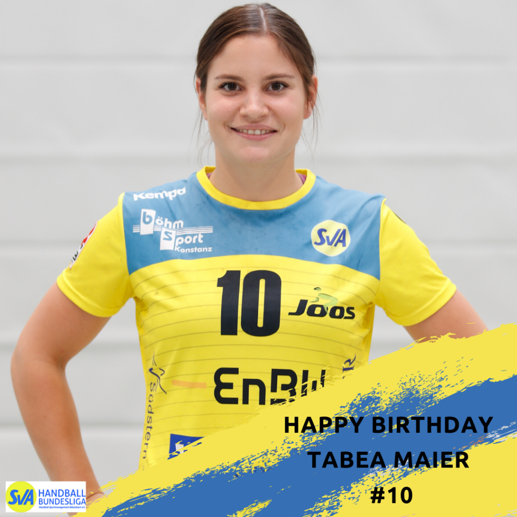 Happy Birthday Tabea Maier