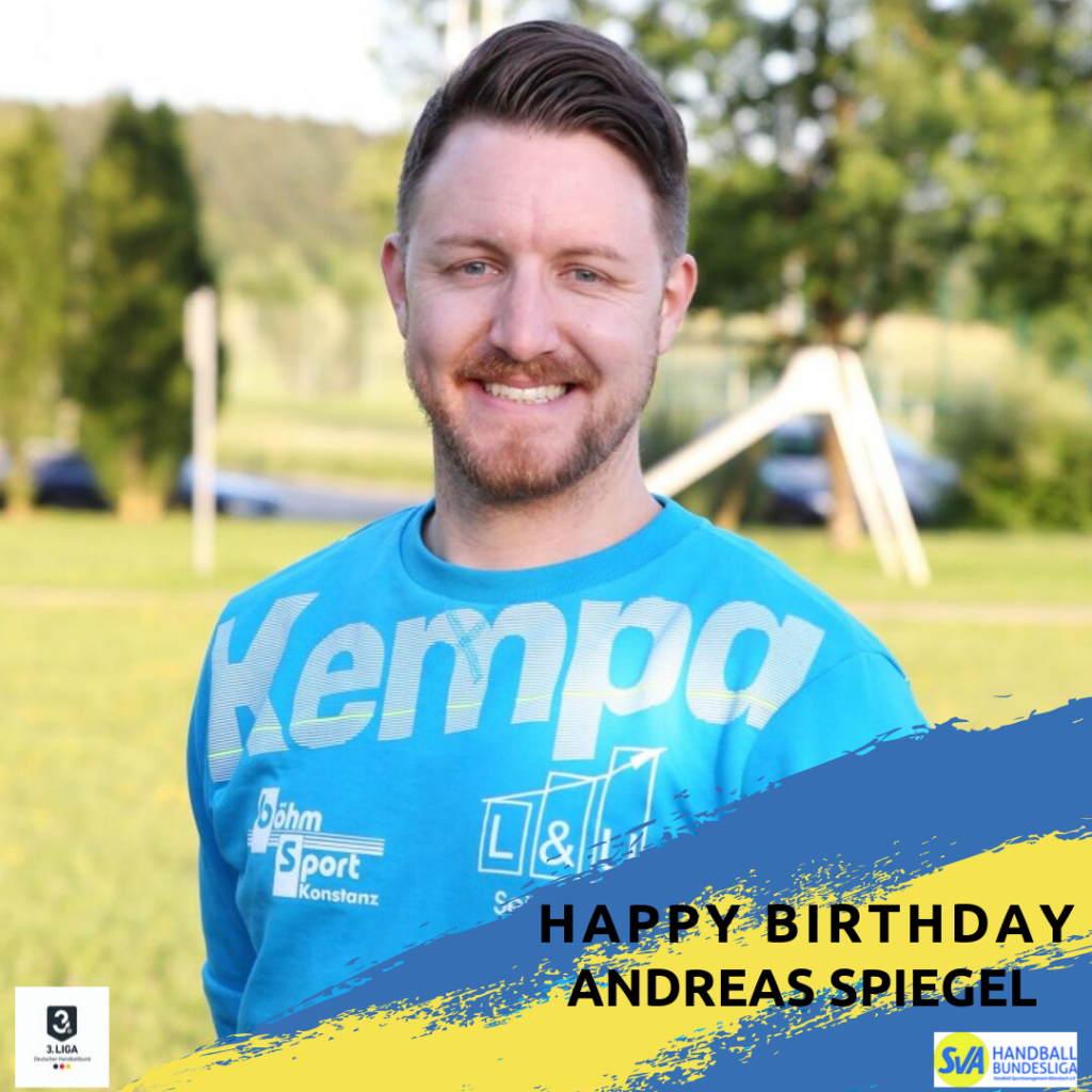 Alles Gute Andreas!