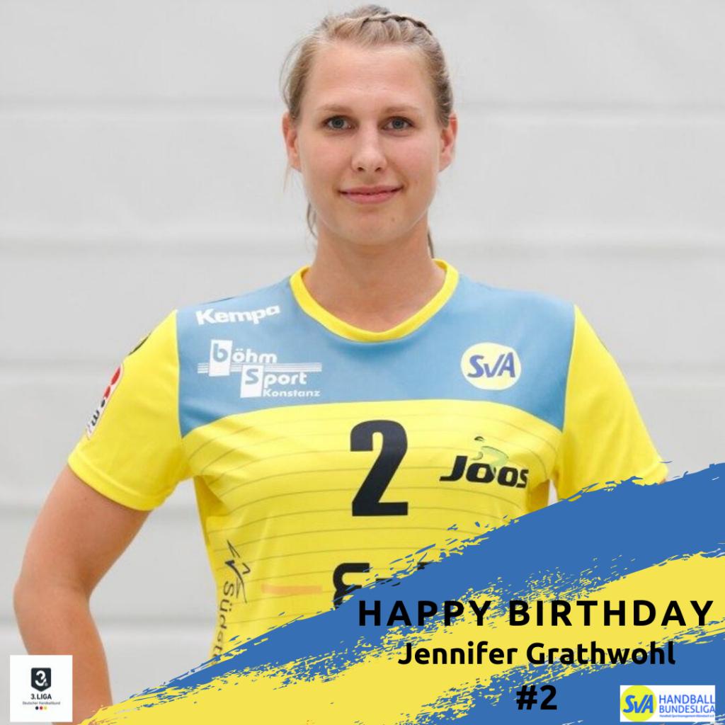 Jennifer Grathwohl feiert Geburtstag