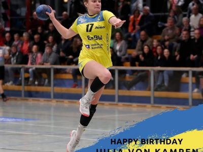 Happy Birthday Julia von Kampen