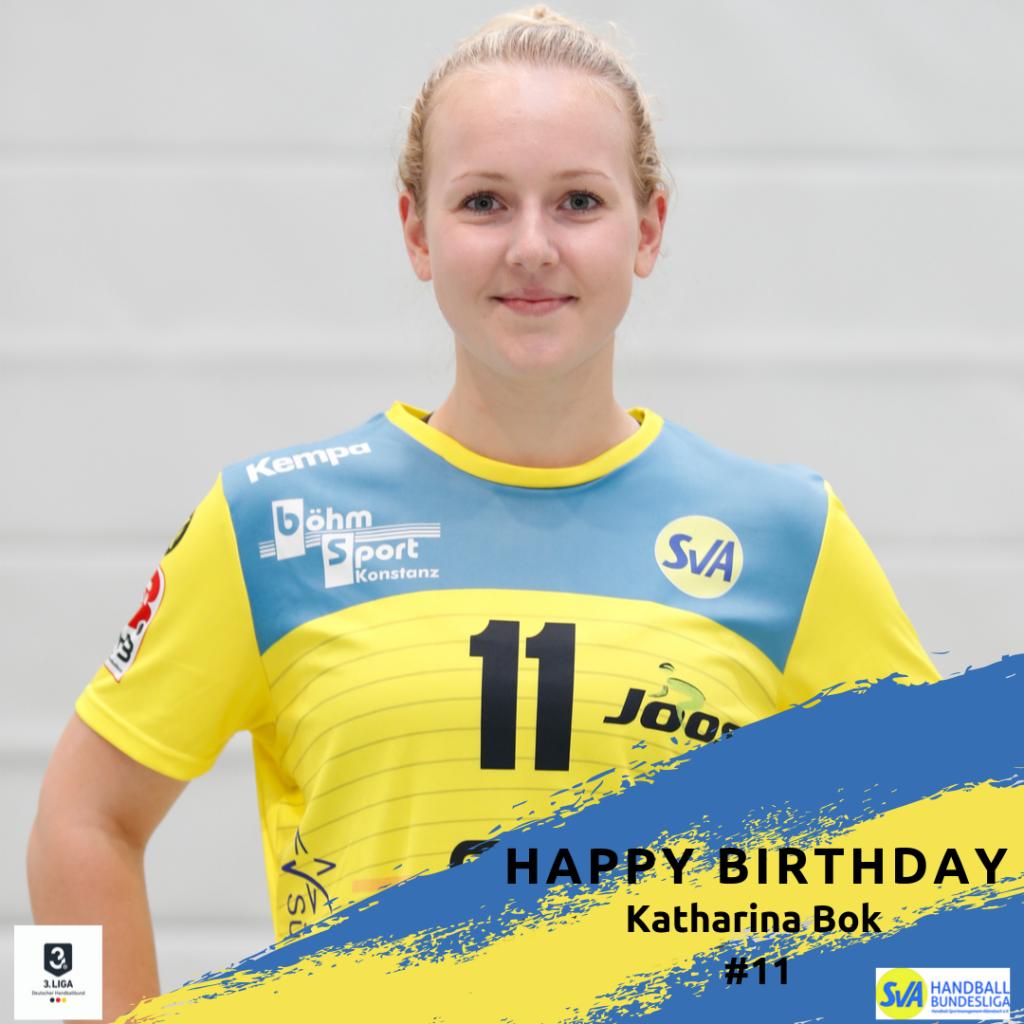 Katharina Bok feiert Geburtstag