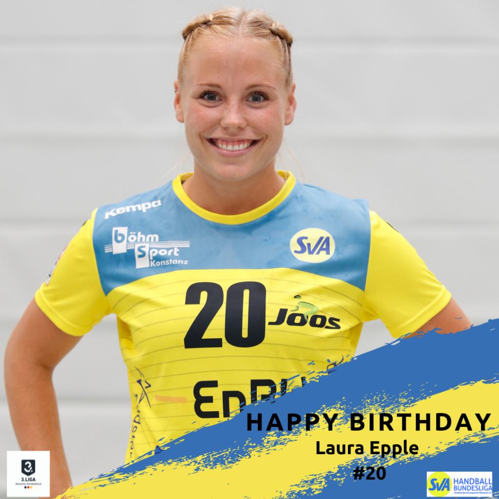 Laura Epple feiert Geburtstag