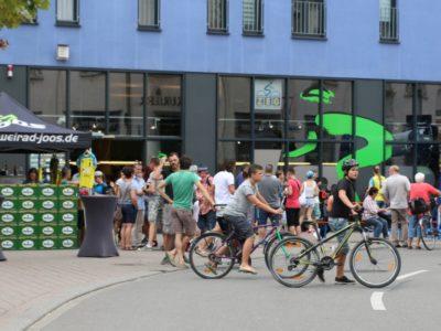 Altstadtfest in Radolfzell bei unserem Premiumsponsor Zweirad Joos