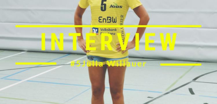 Interview mit Julia Willauer vom SV Allensbach
