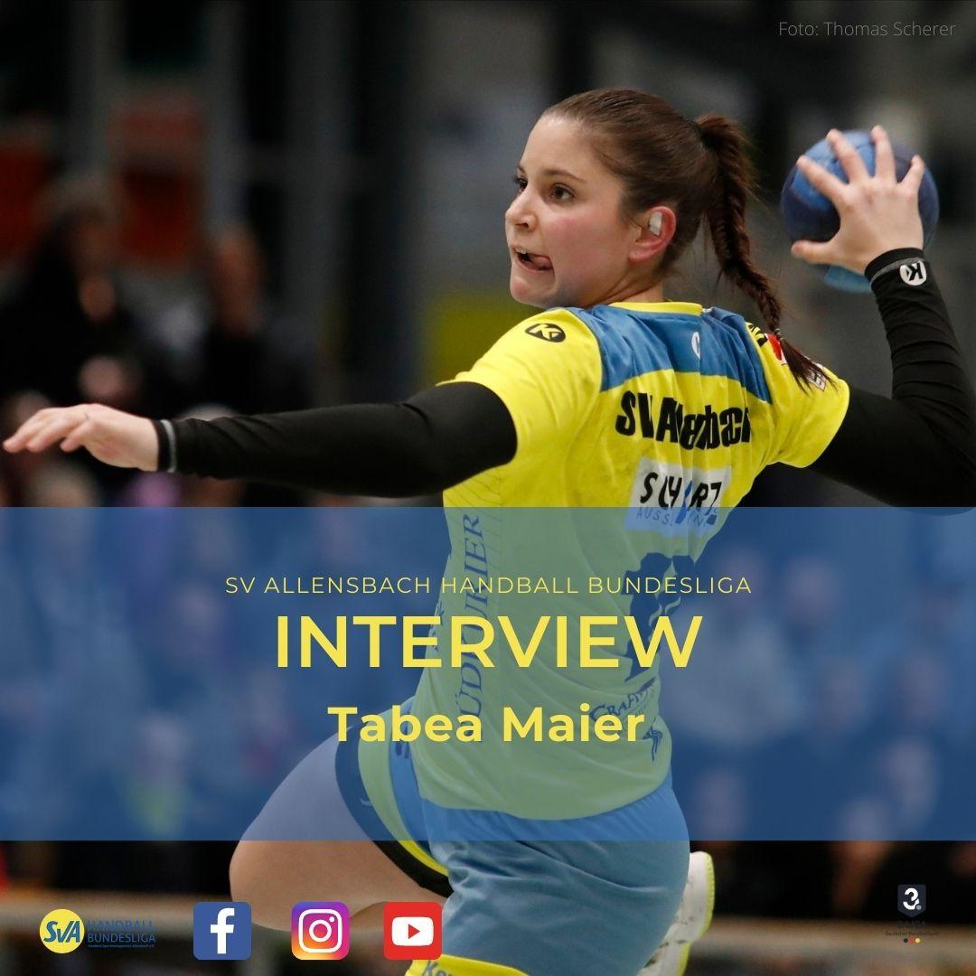 Interview Tabea Maier vom SV Allensbach