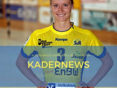 Kristiana Mitreiter verlängert beim SV Allensbach