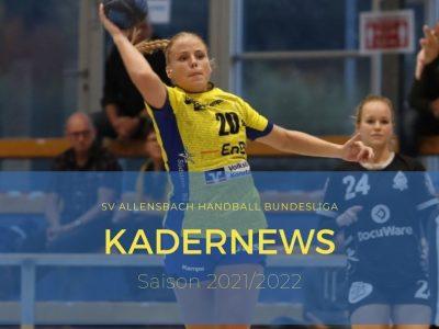 Laura Epple und Joelle Arno verlängern beim SV Allensbach Handball Bundesliga