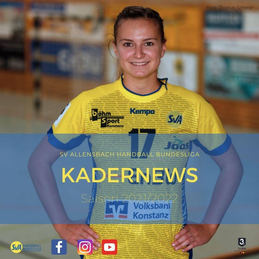 Julia von Kampen verlängert beim SV Allensbach