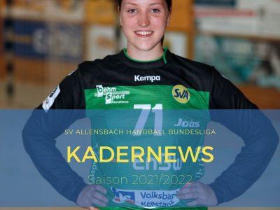 Leonie Kuntz verlängert beim SV Allensbach Handball Bundesliga