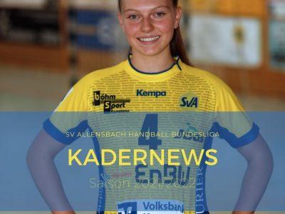 Mia Kernatsch verlässt den SV Allensbach