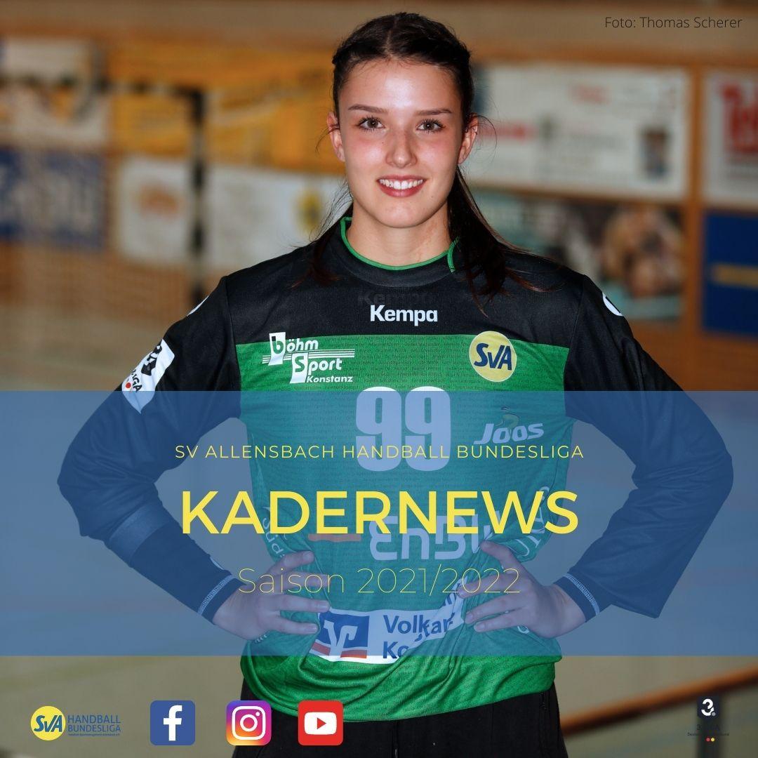 Sophie Leenen verlängert beim SV Allensbach Handball Bundesliga