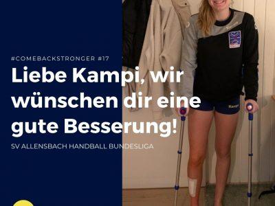 Julia von Kampen vom SV Allensbacherfolgreich operiert