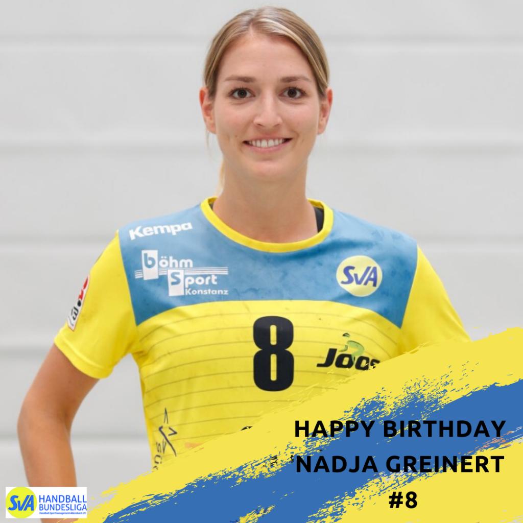 Happy Birthday Nadja Greinert