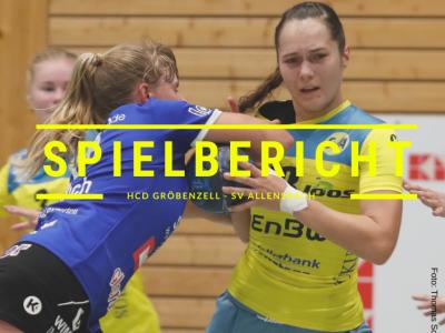 Spielbericht: HCD Gröbenzell vs. SV Allensbach (Endstand: 30:23)