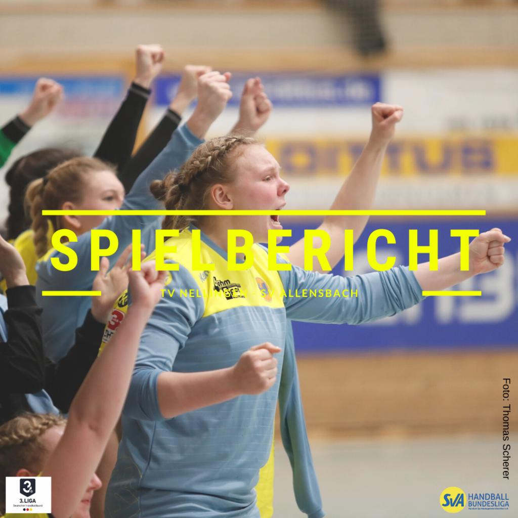 Spielbericht: TV Nellingen vs. SV Allensbach (Endstand: 27:31)