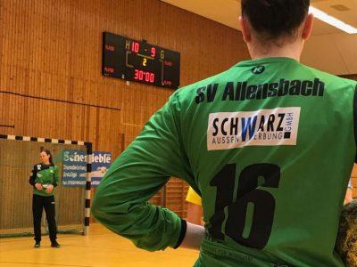 Leo Kuntz vom SV Allensbach zur Halbzeit in Pforzheim
