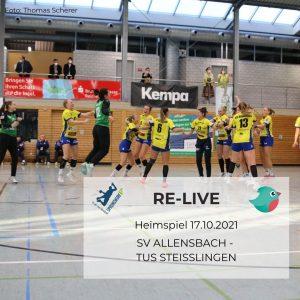 Re-Live SV Allensbach - TuS Steisslingen